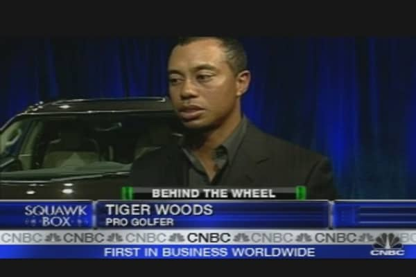 Tiger Woods & Buick
