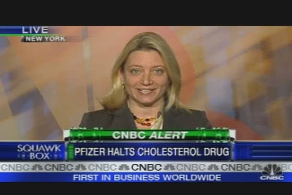 Pfizer Scraps Cholesterol Drug