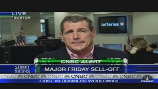 Major Friday Sell-Off