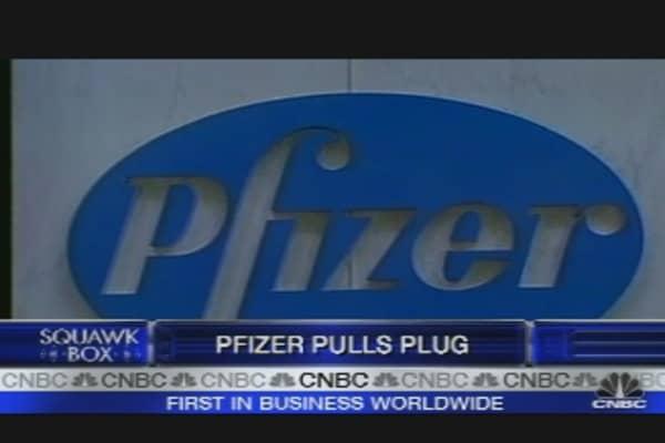 Pfizer Pulls Plug