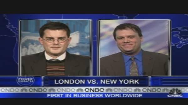 London vs. New York