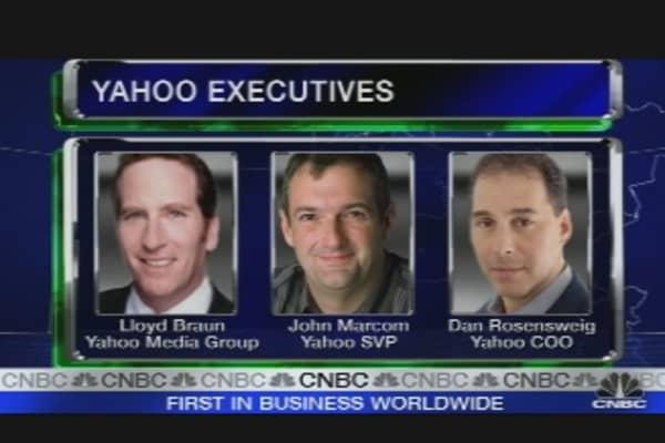 Yahoo's Executive Shuffle