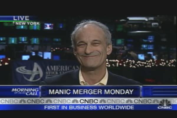 Monday Merger Mania