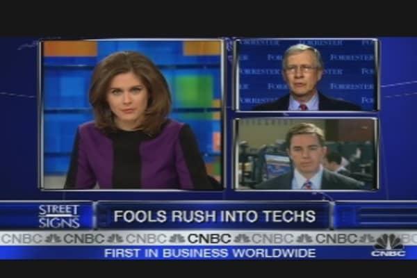 Tech Spending Falloff