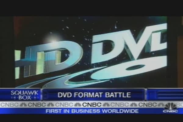DVD Format Battle
