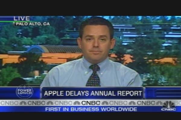 Apple Delays Filing