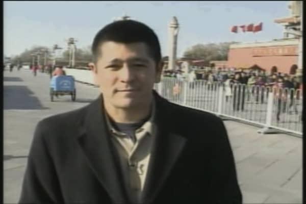 Carl Quintanilla in China