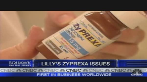 Eli Lilly's Zyprexa Issues