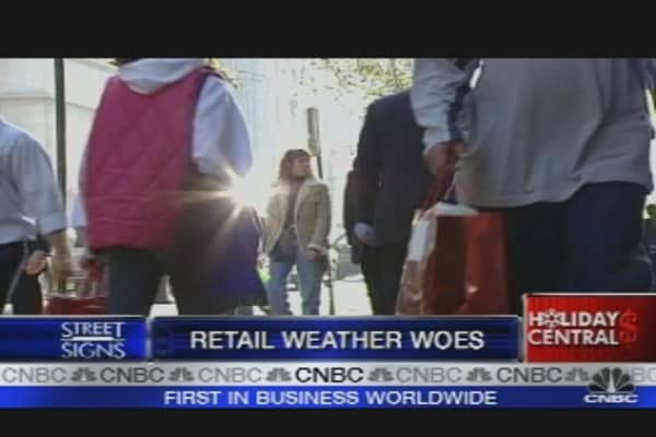 Retail Weather Woes