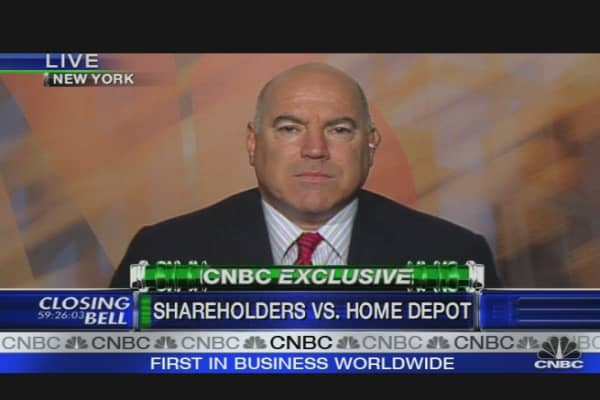 Shareholders vs. Home Depot