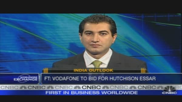 Vodafone Eyes India for Growth