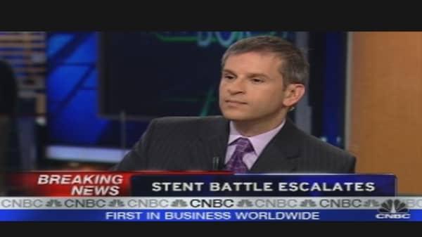 Stent Battle Escalates