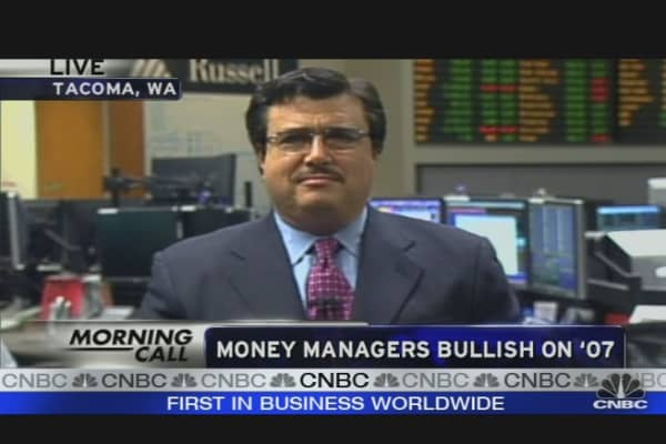 Money Managers Bullish on '07