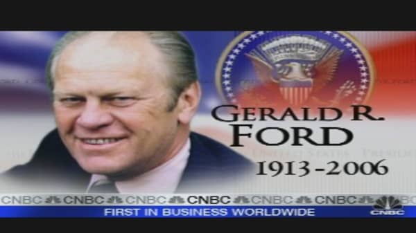President Ford's Death