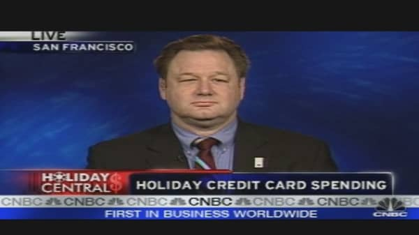 Holiday Credit Spending