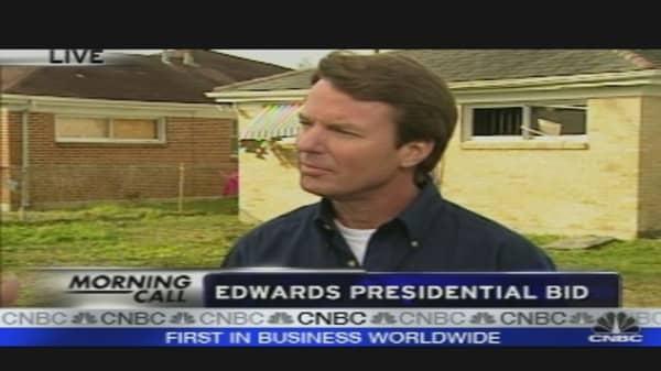 Edwards' Presidential Bid