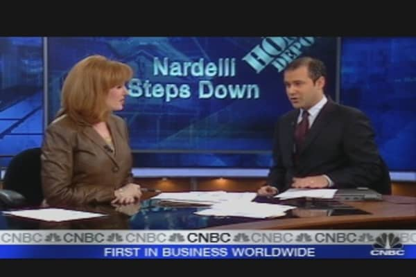 Nardelli Steps Down