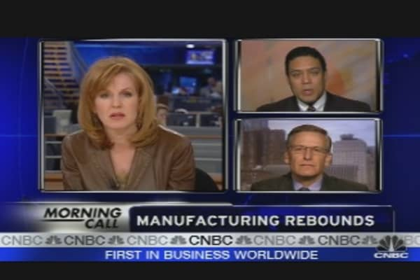 Manufacturing Rebounds