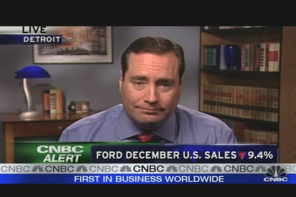 Ford Sales Fall