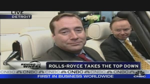 Rolls-Royce Takes the Top Down