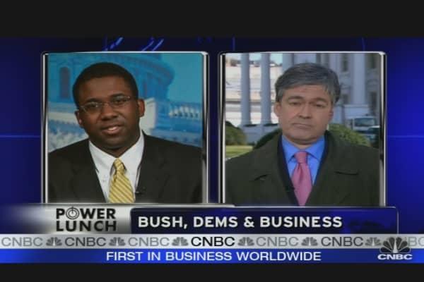 Bush, Dems & Business