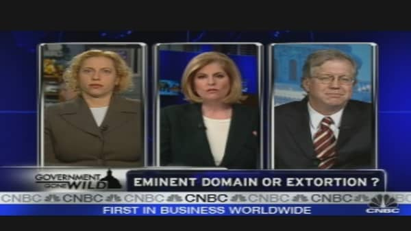 Eminent Domain or Extortion?
