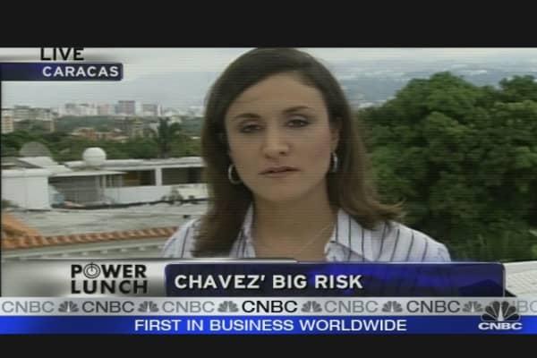 Chavez's Big Gamble