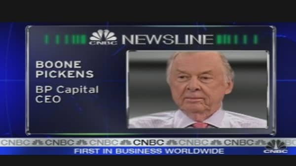 Boone Pickens on Oil Prices