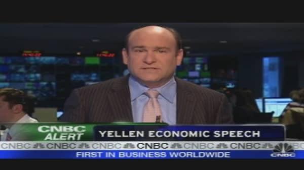 Yellen's Speech