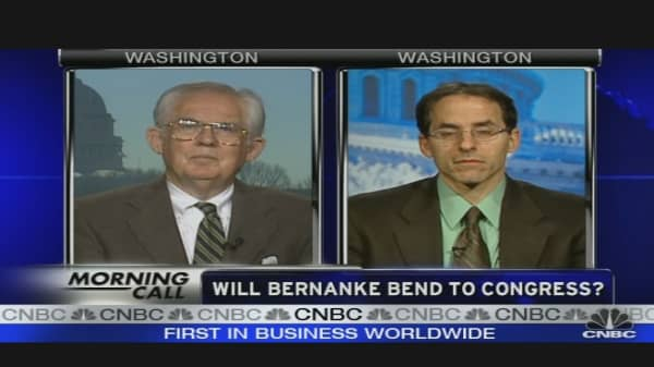 Can Bernanke Bend?