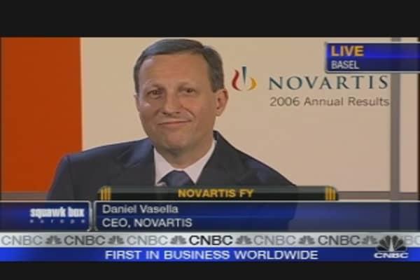 Novartis Q4 Profit Climbs 23%