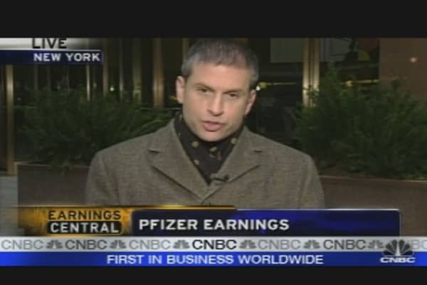 Pfizer Earnings