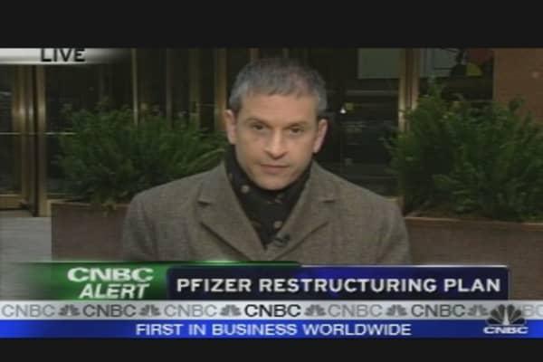 Pfizer Restructuring