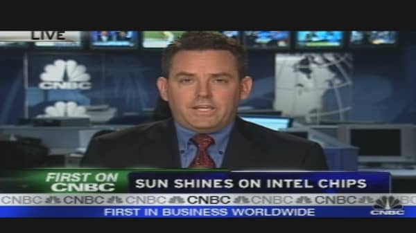 Sun Shines on Intel