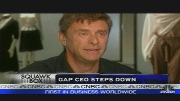 Gap CEO Stepping Down
