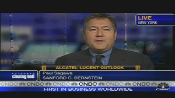 Alcatel-Lucent Profit Warning