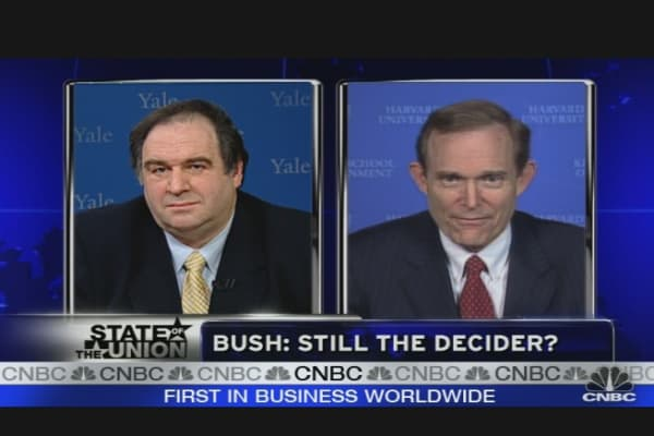 Bush: CEO in Crisis?