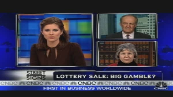 IL Selling its Lottery?