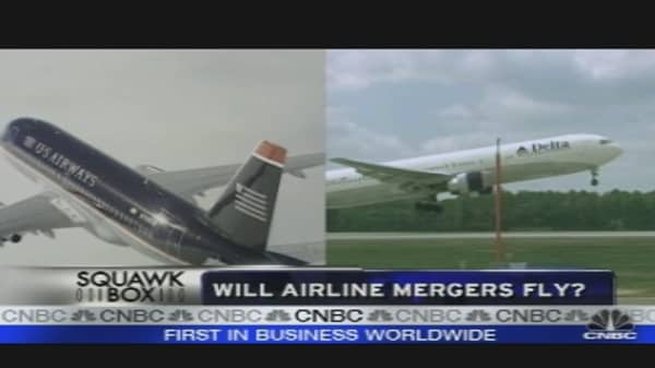 Will Airline Mergers Fly?