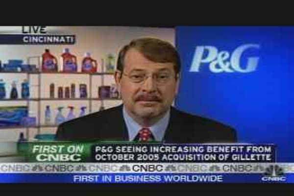 P&G Q2 Profit Up