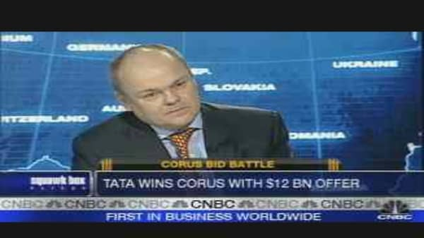 Tata Trumps CSN to Buy Corus
