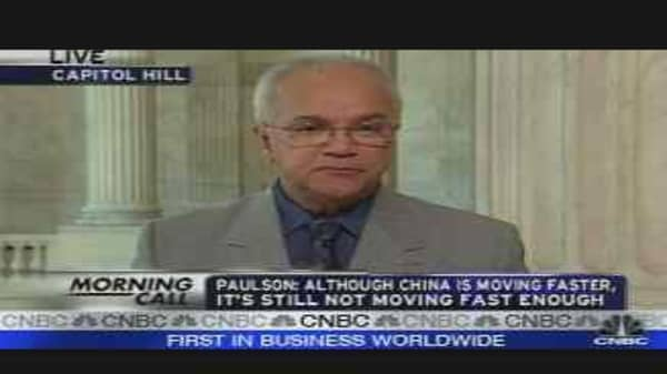 Paulson on China's Economy