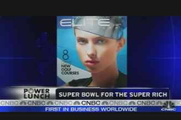 Super Bowl for Super Rich