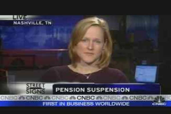 Pensions Pumped