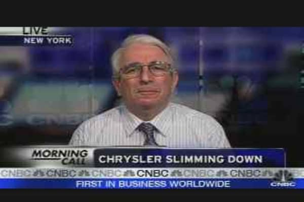 Chrysler Slimming Down
