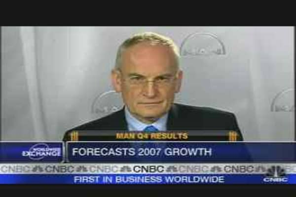 MAN Forecasts 2007 Growth