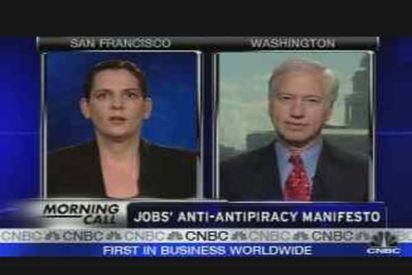 Jobs' Anti-Antipiracy Manifesto