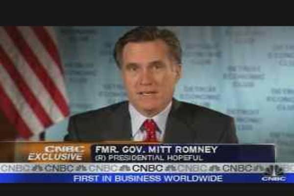 Romney Economics