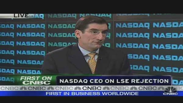 NASDAQ CEO on LSE Rejection