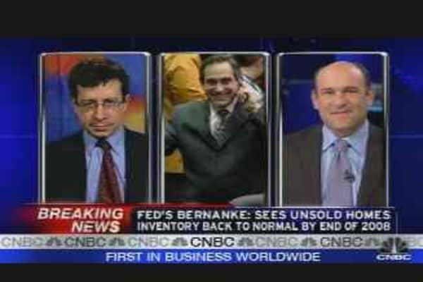 Bernanke Testimony Reaction